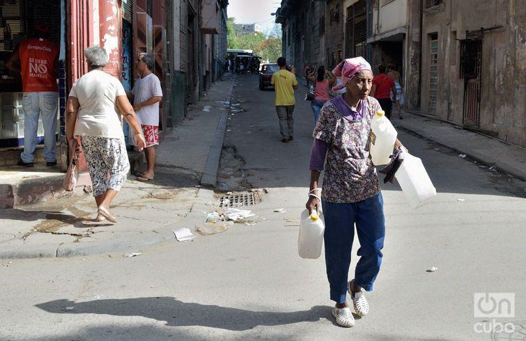 Jesús María, uno de los barrios afectados por la rotura de la Cuenca Sur. Foto: Otmaro Rodríguez.