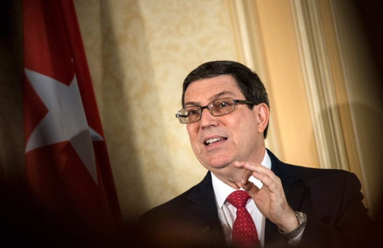El canciller cubano Bruno Rodríguez. Foto: EFE / Archivo..