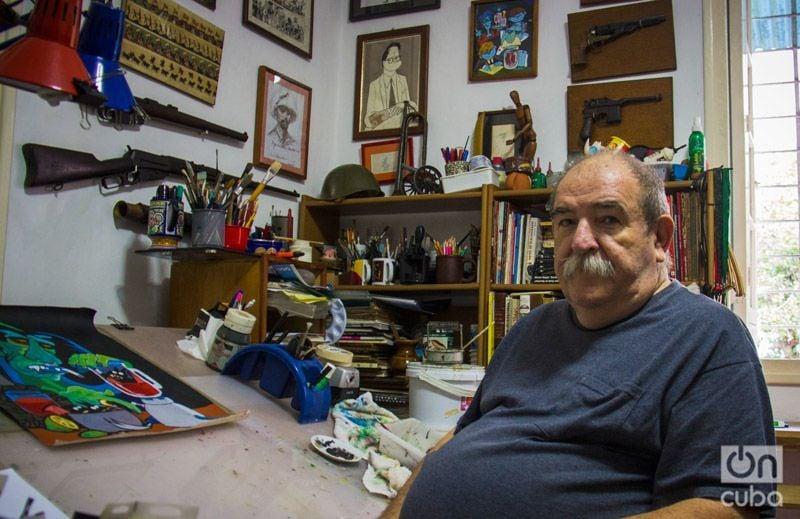 Juan Padrón. Foto: Foto: Mario Luis Reyes.