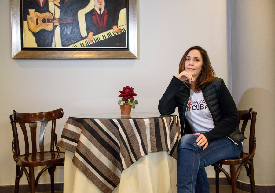 Mariela Castro spoke about relations with the United States, Cuba's political future and her work at the head of CENESEX. Photo: Javier Zorrilla / EFE.