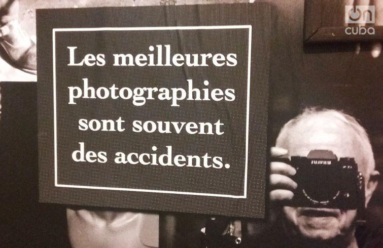 """""""Las mejores fotografías son a menudo accidentales"""". Maurice Renoma en FAC."""