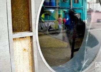 Ruinas del Teatro Musical. Foto: Otmaro Rodríguez.