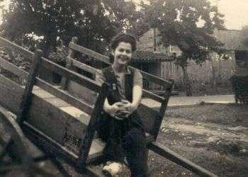 Una foto de Leida durante su juventud cubana.
