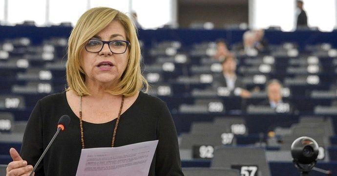 La eurodiputada española Elena Valenciano. Foto: Parlamento Europeo.