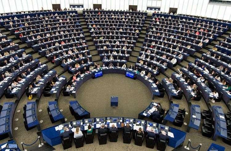 Parlamento Europeo. Foto: Patrick Seeger / EFE.