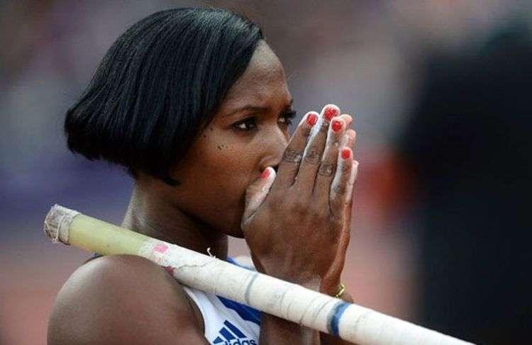 En Yarisley Silva descansa buena parte de las opciones de medallas para Cuba. Foto: Getty Images.