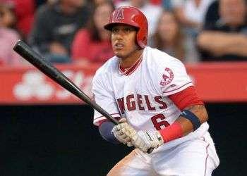 "Yunel Escobar, ""el Gambao"". Foto: Jayne Kamin / USA TODAY Sports."