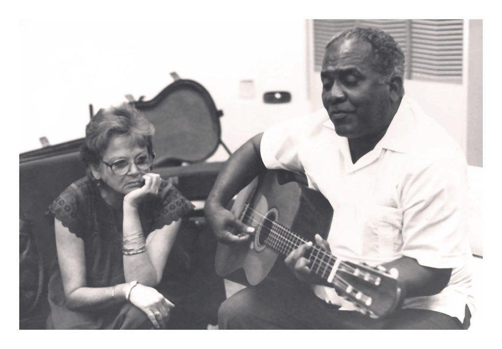 Marta Valdés y José Antonio Menéndez.