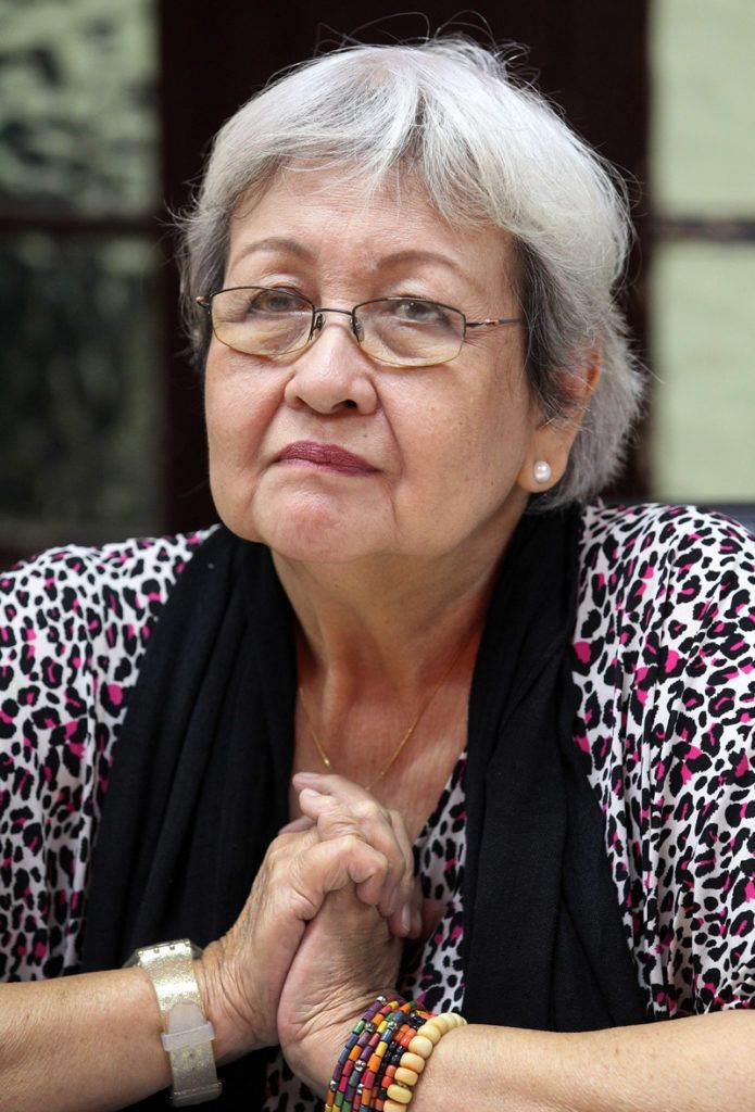 La experta de la ONU en Derechos Humanos y Solidaridad Internacional, Virginia Dandan. Foto: Alejandro Ernesto / EFE.