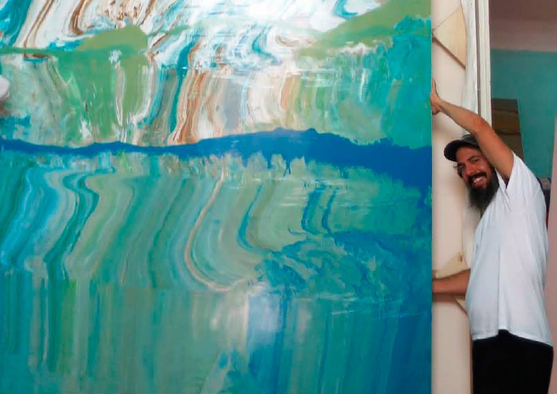 José Yaque. Foto: Galería Arte Continua.