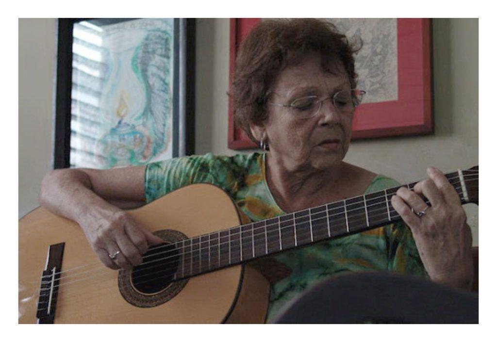 Marta Valdés. Foto: Silvio Rodríguez.
