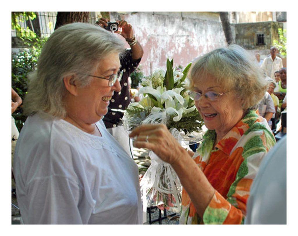 Marta Valdés y Sara González. Foto: Kaloian.