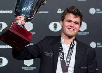 Magnus Carlsen. Foto: Eduardo Muñoz Álvarez / AFP.