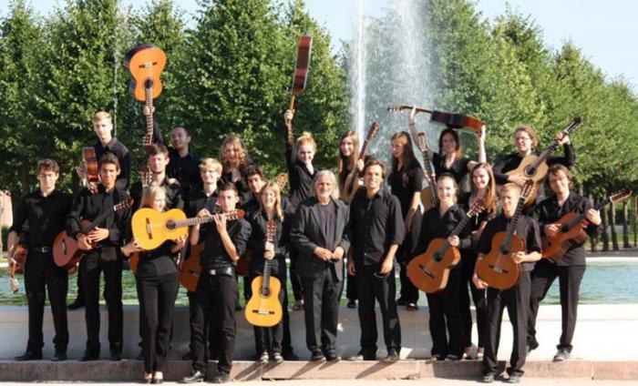 Guitarras de Baden-Württemberg, Alemania. Foto: Cortesía del Centro Nacional de Música de Concierto.