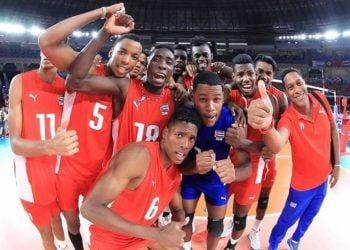 El sub-23 masculino cubano se colgó las medallas de bronce en el mundial de su categoría. Foto: Getty Images.