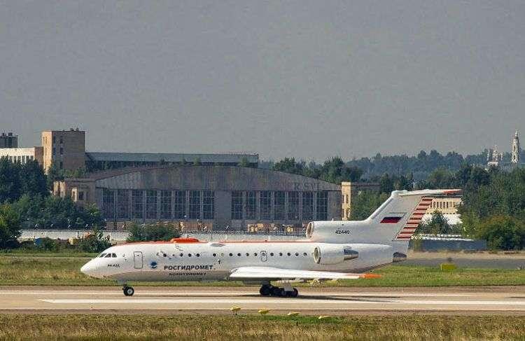 El laboratorio aéreo el Yak-42D 42440. Foto: Said Aminov / saidpvo.livejournal.com.