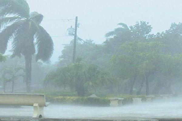 Irma en Puerto Padre. Foto: periódico 26.