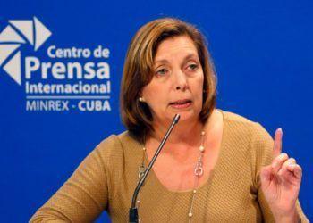 La diplomática cubana Josefina Vidal. Foto: AP /