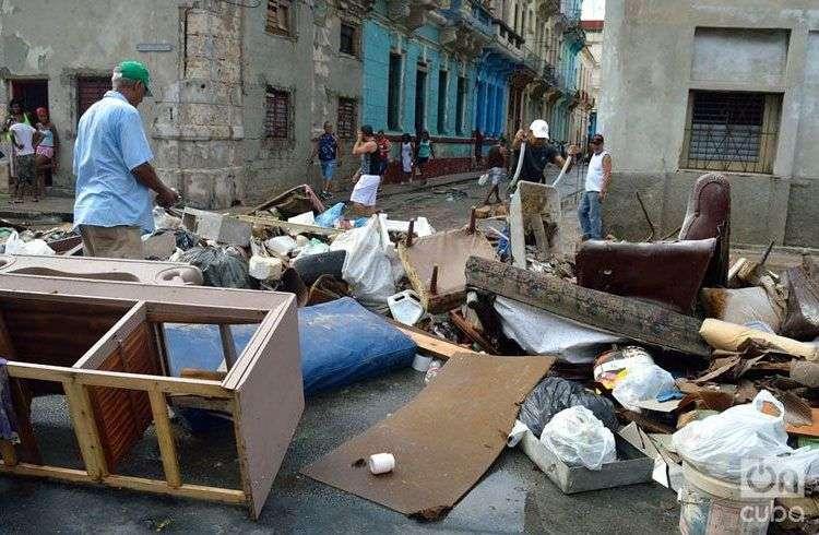 Huellas del huracán Irma en La Habana. Foto: Otmaro Rodríguez.