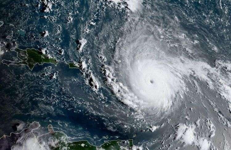Huracán Irma. Foto: AFP.