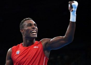 El boxeador cubano Julio César La Cruz, campeón olímpico y mundial. Foto: Cubasí / Archivo.