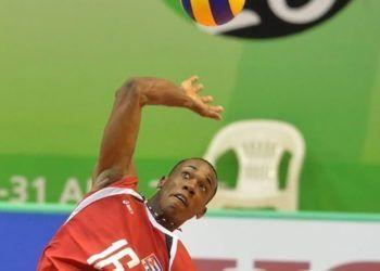 El joven voleibolista cubano Luis Tomás Sosa. Foto: Getty Images.