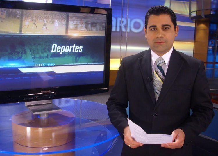 Abel Álvarez en Telediario4. Foto: Blog de Abel Álvarez.