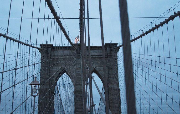 Puente de Brooklyn. Foto: Lidia Hernández Tapia.