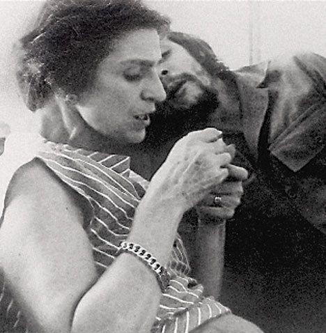 El Che y su madre, Celia de la Serna.