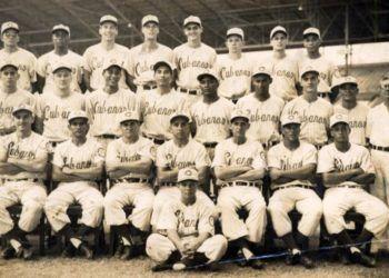 Los Cuban Sugar Kings Triple AAA Baseball Club en 1959. Foto: mopupduty.com.