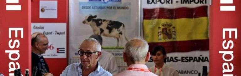 Pabellón de España en la 35 edición de la Feria Internacional de La Habana, FIHAV 2017. Foto: Alejandro Ernesto / EFE.