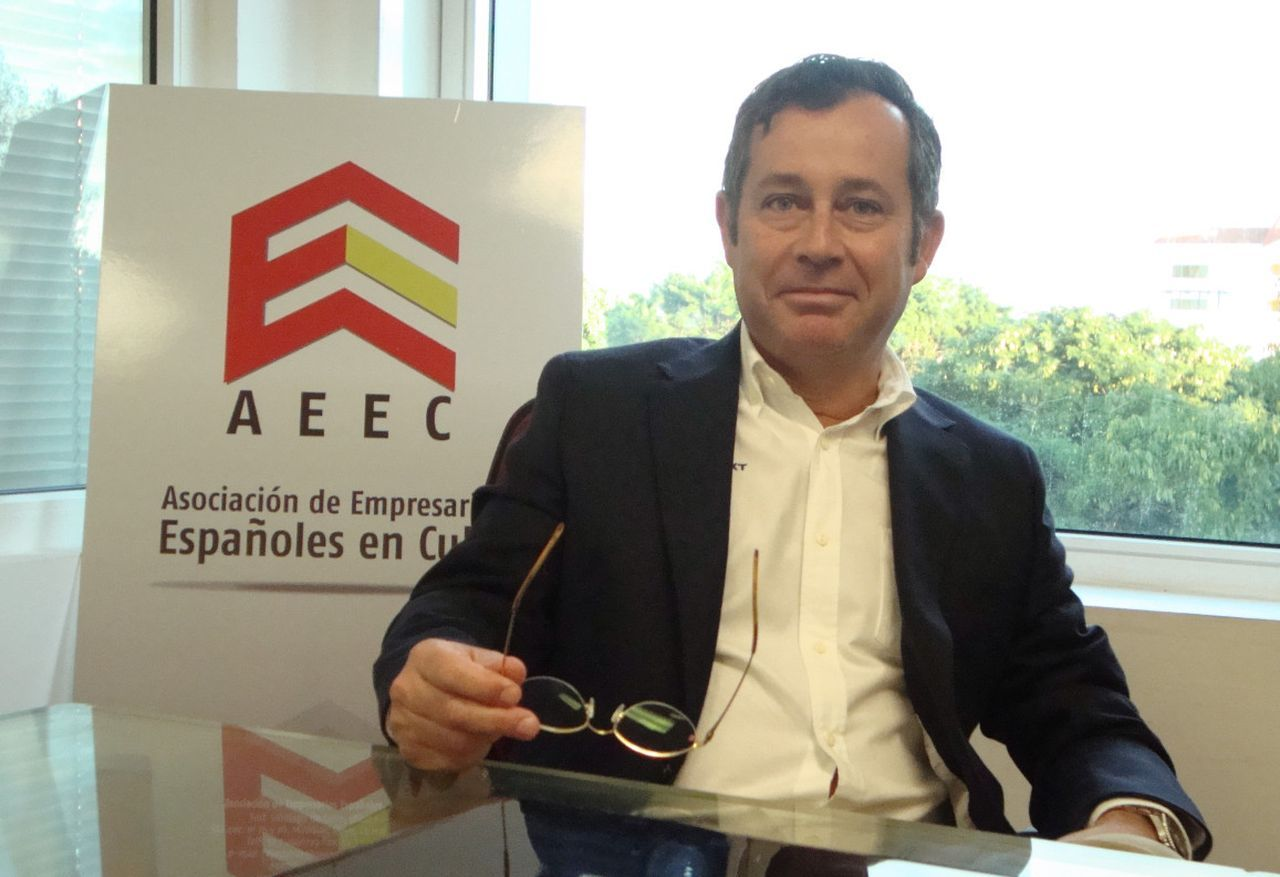 Xulio Fontecha, presidente de la AECC. Foto: Idalmys Benítez