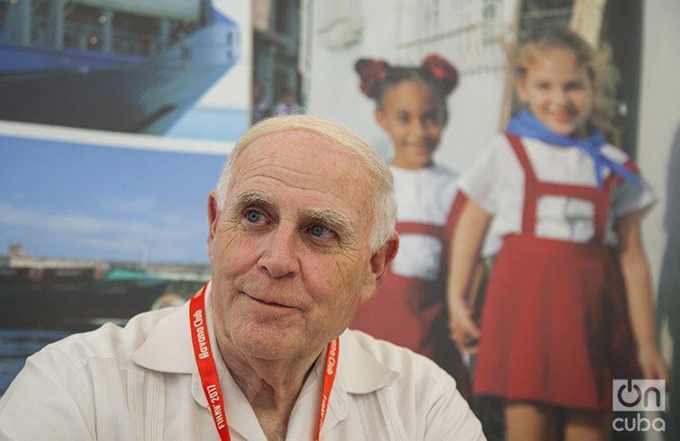 Jay S. Brickman, Vicepresidente de Servicios de Gobierno de Crowley Maritime Corporation. Foto: Claudio Pelaez Sordo.