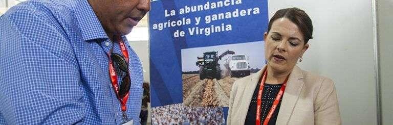 La agricultura del estado de Virginia en FIHAV 2017. Foto: Claudio Pelaez Sordo.