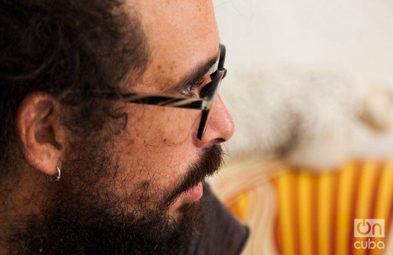 """""""...es un orgullo para mí que en España yo sea considerado el último descubrimiento de Javier Krahe"""". Foto: Claudio Pelaez Sordo."""