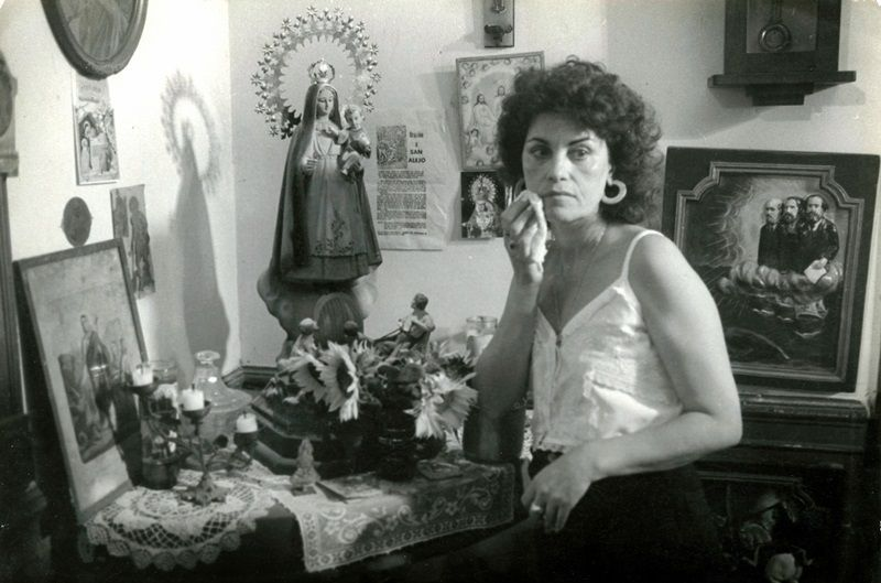 Mirtha Ibarra en Fresa y Chocolate. Foto: Cortesía de la entrevistada.