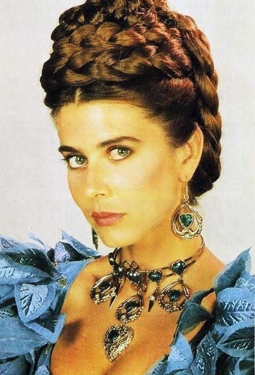 """La actriz Maité Proenza fue """"Doña Bella"""" en la telenovela brasileña de igual nombre."""