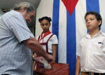 Las elecciones municipales de este domingo en Cuba convocan a más de 8 millones de electores. Foto: El Universal.