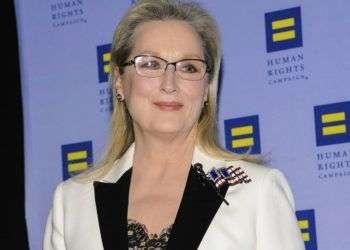 Meryl Streep en una gala de la Human Rights Campaign Greater New York. Foto: Christopher Smith / Invision /AP / Archivo.