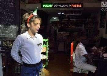 Restaurante privado en La Habana. Foto: Otmaro Rodríguez.