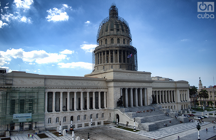 Capitolio de La Habana. Foto: Otmaro Rodríguez