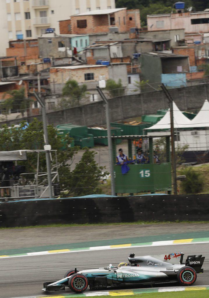 Circuito Interlagos de Sao Paulo. Foto: Andre Penner / AP.