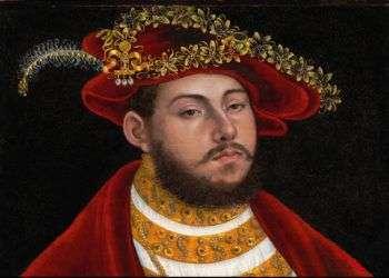 Retrato de John Frederick I, elector de Sajonia, de Lucas Cranach el Viejo, obra saqueada por los nazis y recientemente fue devuelta a sus herederos legítimos que será subastada en abril. Foto: Christie´s Images / AP.