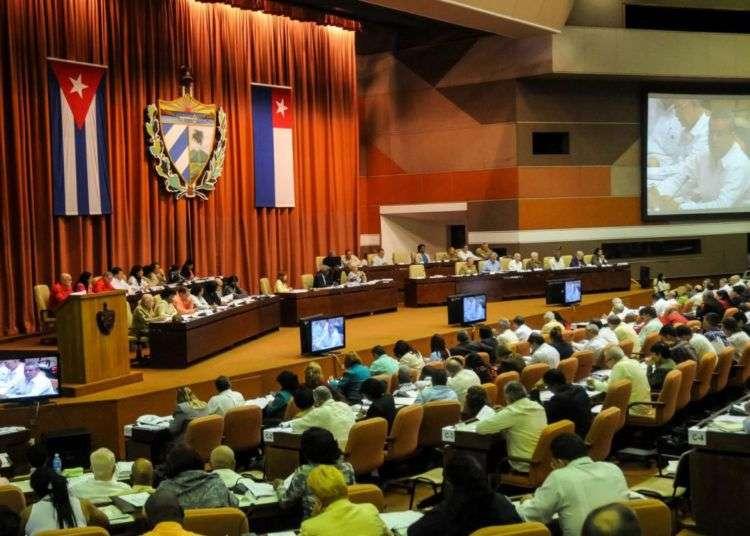 Asamblea Nacional del Poder Popular. Foto: parlamentocubano.cu.
