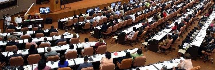 Asamblea Nacional del Poder Popular de Cuba. Foto: Alejandro Ernesto / EFE/Archivo.