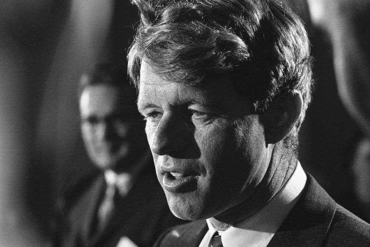 Robert F. Kennedy fue asesinado el 5 de junio de 1968. Foto: Bob Daughtery / AP.