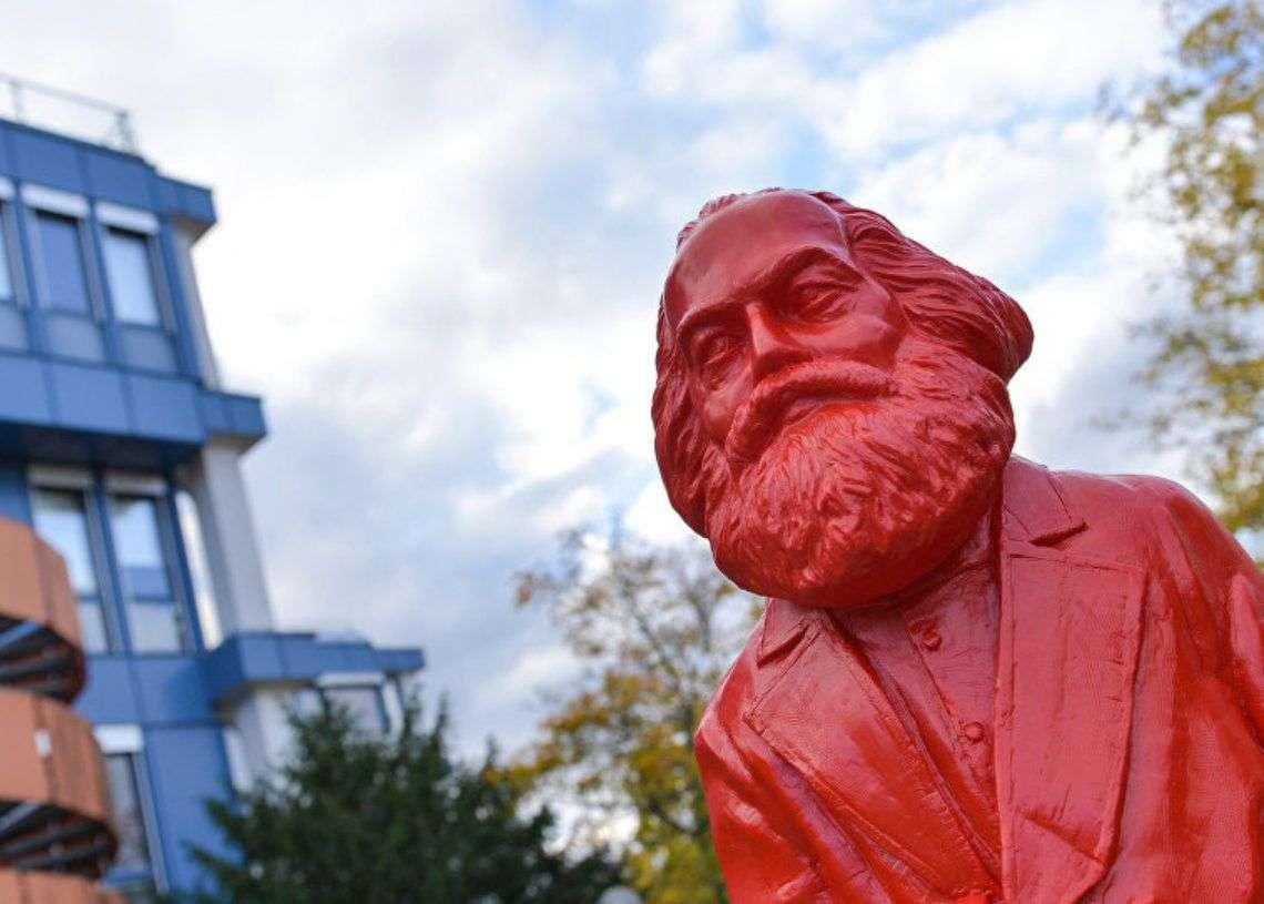 Carlos Marx en la Universidad de Trier. Foto: sputniknews.com.