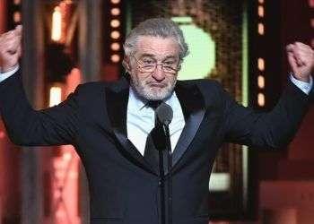 Robert de Niro en los premios Tony. Foto: Getty Images.