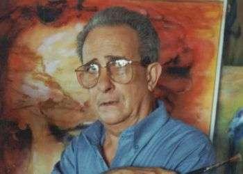 El pintor y escultor José Delarra (San Antonio de los Baños, 1938 - La Habana, 2003)