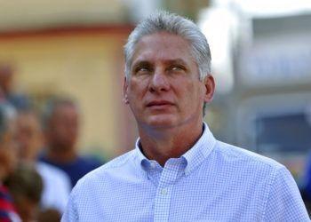 El presidente cubano Miguel Díaz-Canel. Foto: Ernesto Mastrascusa / AP / Archivo.